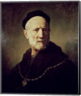 Portrait of Rembrandt's Father Fine-Art Print