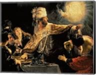 Belshazzar's Feast c.1636 Fine-Art Print