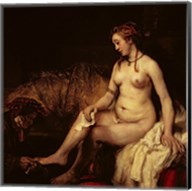 Bathsheba Bathing, 1654 Fine-Art Print