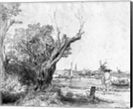View of Omval, near Amsterdam, 1645 Fine-Art Print