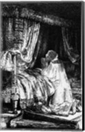 King David at prayer, 1652 Fine-Art Print