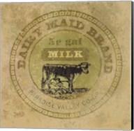 Dairy Maid Brand Fine-Art Print