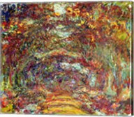 The Rose Path, Giverny, 1920-22 Fine-Art Print