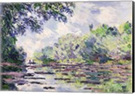 The Seine at Giverny, 1885 Fine-Art Print