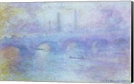 Waterloo Bridge, Effect of Fog, 1903 Fine-Art Print