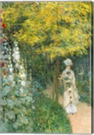 Rose Garden, 1876 Fine-Art Print