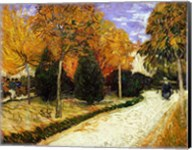 Path in the Park at Arles, 1888 Fine-Art Print