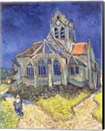 The Church at Auvers-sur-Oise, 1890 Fine-Art Print