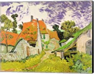 Street in Auvers-sur-Oise, 1890 Fine-Art Print