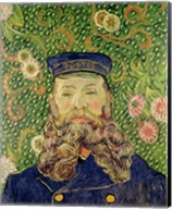 Portrait of the Postman Joseph Roulin, 1889 Fine-Art Print