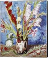 Vase with Gladioli Fine-Art Print