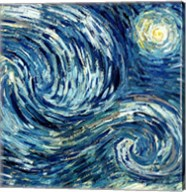 The Starry Night, June 1889 Detail B Fine-Art Print