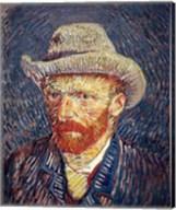 Self Portrait with Felt Hat Fine-Art Print