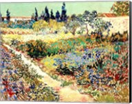 The Garden at Arles, 1888 Fine-Art Print