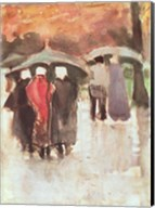 In the Rain, 1882 Fine-Art Print