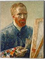 Self Portrait as an Artist, 1888 Fine-Art Print
