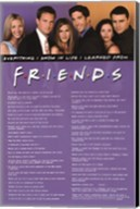 Friends - Everything I Know Wall Poster