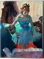 Dancer in her dressing room Fine-Art Print