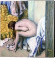 After the Bath, Woman Drying her Left Foot, 1886 Fine-Art Print
