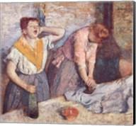 The Laundresses, c.1884 Fine-Art Print