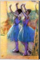 Two Blue Dancers Fine-Art Print