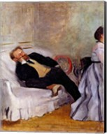 Monsieur and Madame Edouard Manet Fine-Art Print