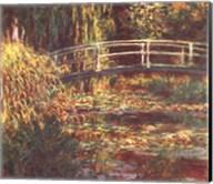 Le Bassin aux Nympheas: Harmonie Rose Fine-Art Print