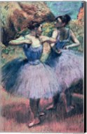 Dancers in Violet Fine-Art Print