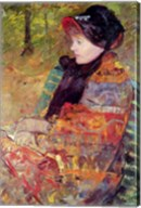 Portrait of Mlle C. Lydia Cassatt, 1880 Fine-Art Print