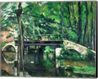 The Bridge at Maincy Fine-Art Print