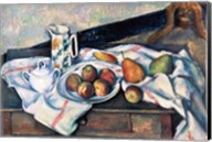 Still Life of Peaches and Pears Fine-Art Print