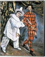 Pierrot and Harlequin Fine-Art Print