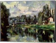 The Banks of the Marne at Creteil, c.1888 Fine-Art Print