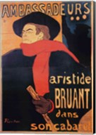 Ambassadeurs: Aristide Bruant, 1892 Fine-Art Print