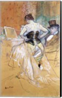 Woman at her Toilet, study for 'Elles', c.1896 Fine-Art Print