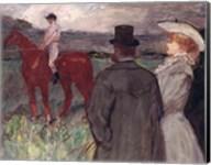 At the Racecourse, 1899 Fine-Art Print