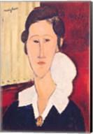 Portrait of Madame Hanka Zborowska, 1917 Fine-Art Print