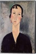 Woman with Earrings Fine-Art Print