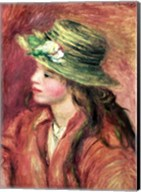 Young Girl in a Straw Hat Fine-Art Print