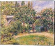 Railway Bridge at Chatou, 1881 Fine-Art Print