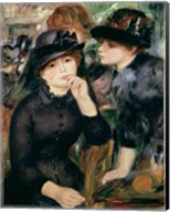 Girls in Black, 1881-82 Fine-Art Print