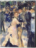 Ball at the Moulin de la Galette, 1876 - close up Fine-Art Print