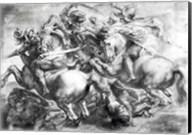 The Battle of Anghiari after Leonardo da Vinci Fine-Art Print