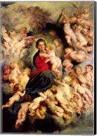 The Virgin and Child surrounded by the Holy Innocents Fine-Art Print