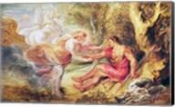 Aurora Abducting Cephalus, 1636 Fine-Art Print