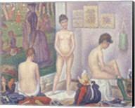 The Models, 1888 Fine-Art Print