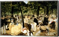 Music in the Tuileries Gardens, 1862 Fine-Art Print