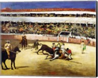 Bull Fight, 1865 Fine-Art Print