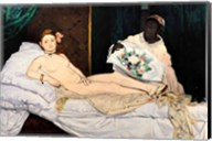 Olympia, 1863 Fine-Art Print