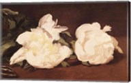 Branch of White Peonies and Secateurs, 1864 Fine-Art Print